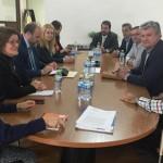 La Federación Regional de Empresarios de Automoción de Castilla-La Mancha se reúne con el Vicepresidente del Gobierno Regional