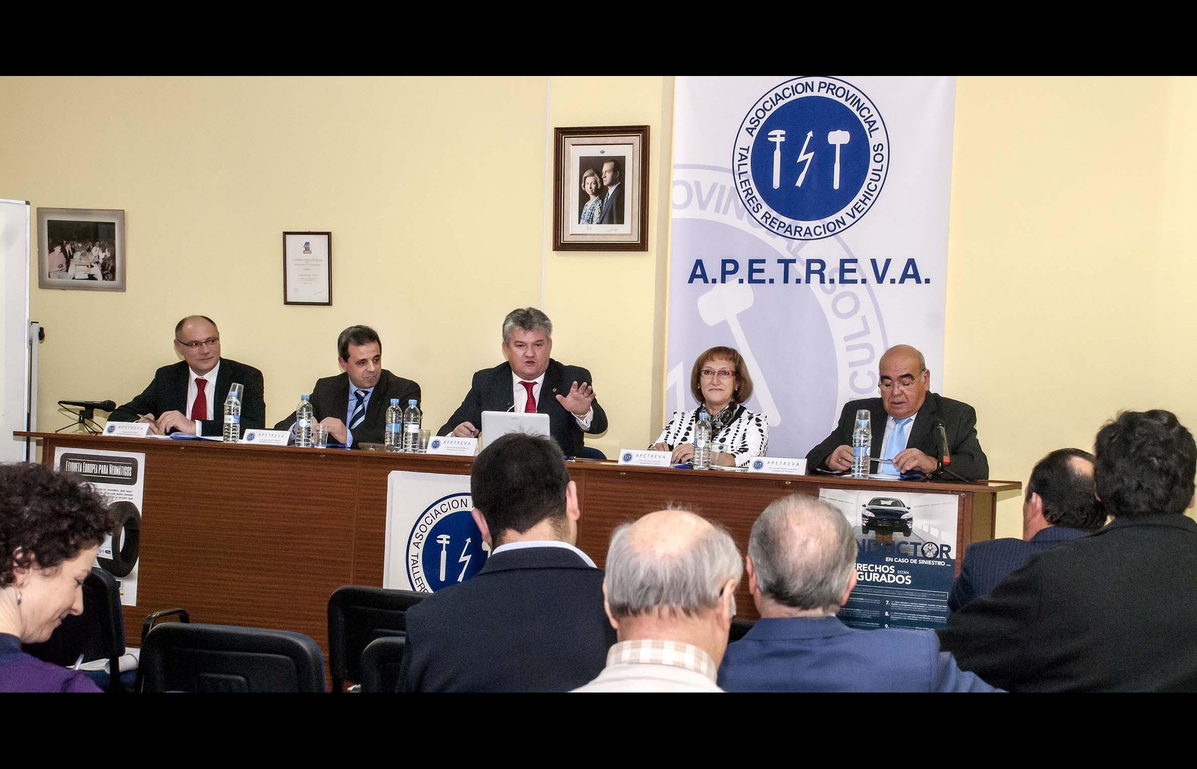 Asamblea anual 2013 de APETREVA
