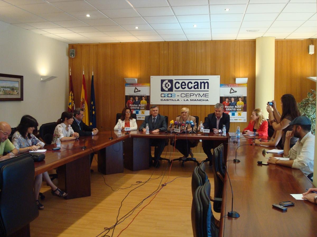 Castilla-La Mancha apoya el Triángulo de la Seguridad