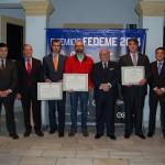 """Santa Bárbara Sistemas, Jiménez Maña Recambios y Rodamientos y Servicios Royse, """"Premios FEDEME 2014"""""""
