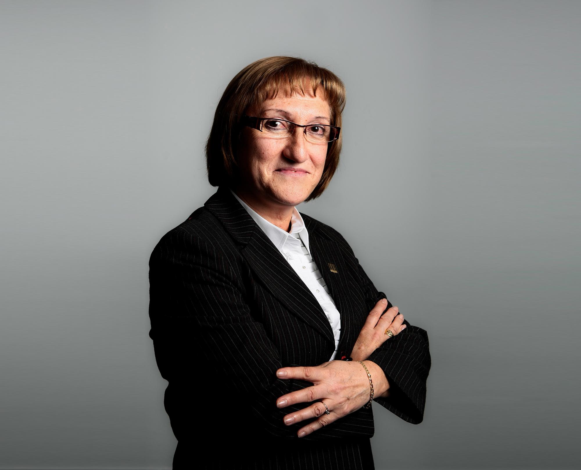 La Presidenta de CETRAA, María del Carmen Antúnez