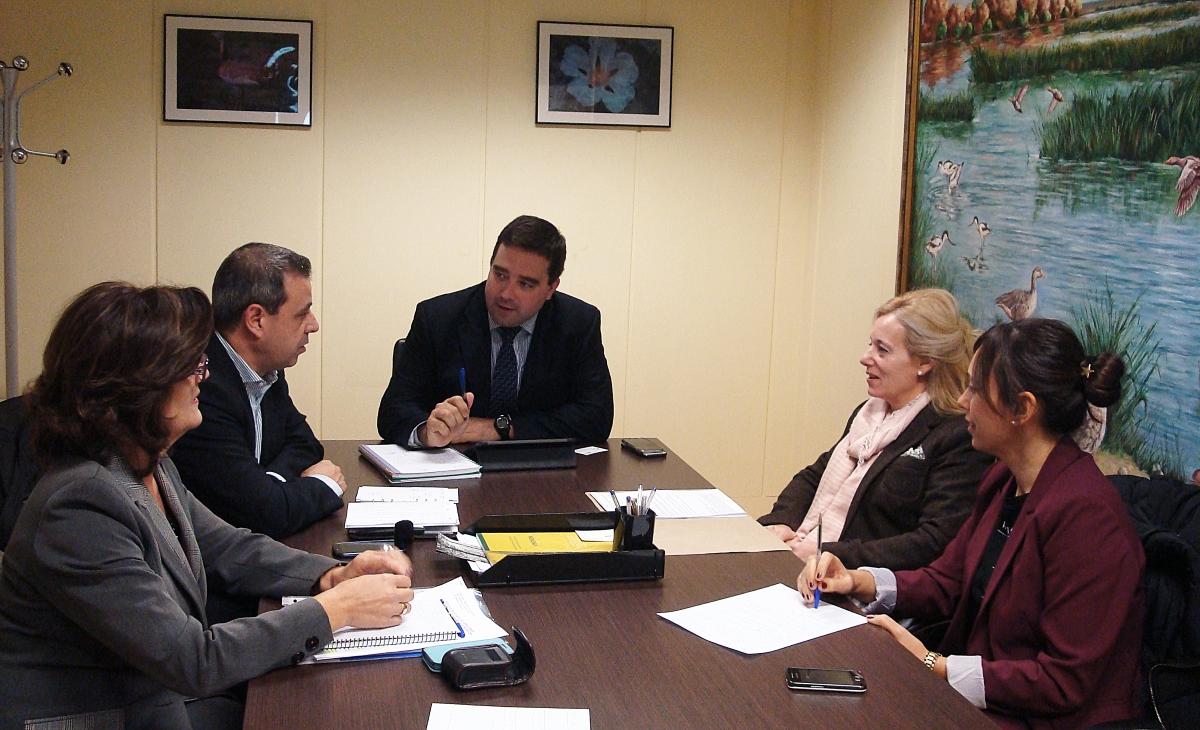 Reunión Viceconsejería Medio Ambiente