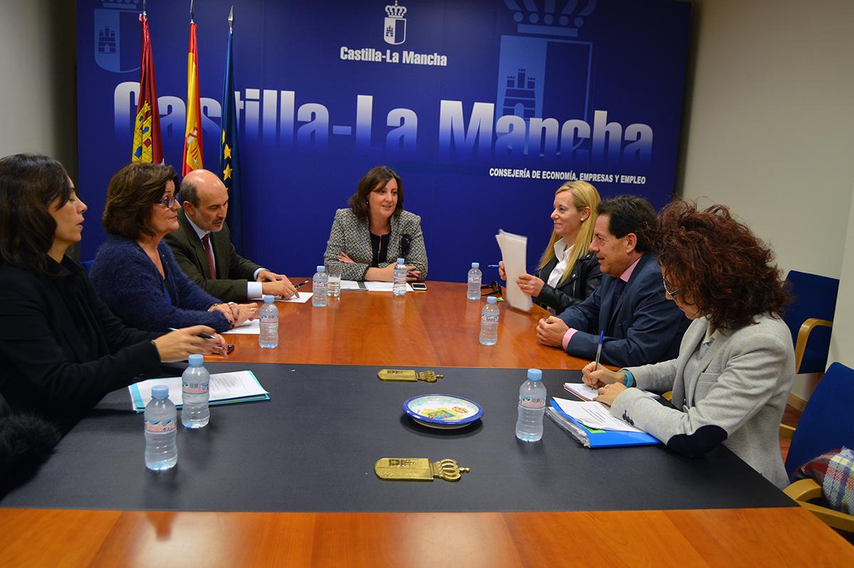 Reunión CECAM con la Consejería de Economía