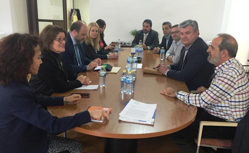 Reunión Federación CLM con Vpte. CLM