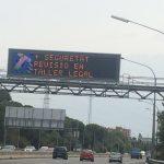 Campaña en las carreteras catalanas sobre la competencia desleal en el sector del mantenimiento y reparación del vehículo