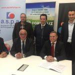 ASPA suscribe un acuerdo con GAE Asesoría Energética