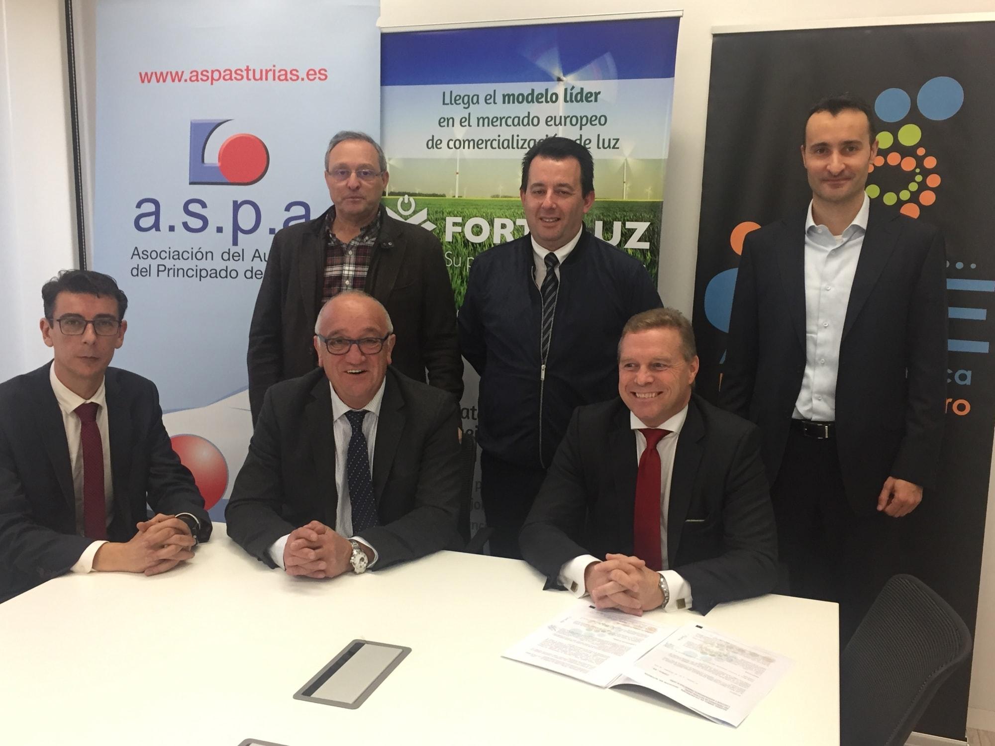 ASPA suscribe un acuerdo con GAE