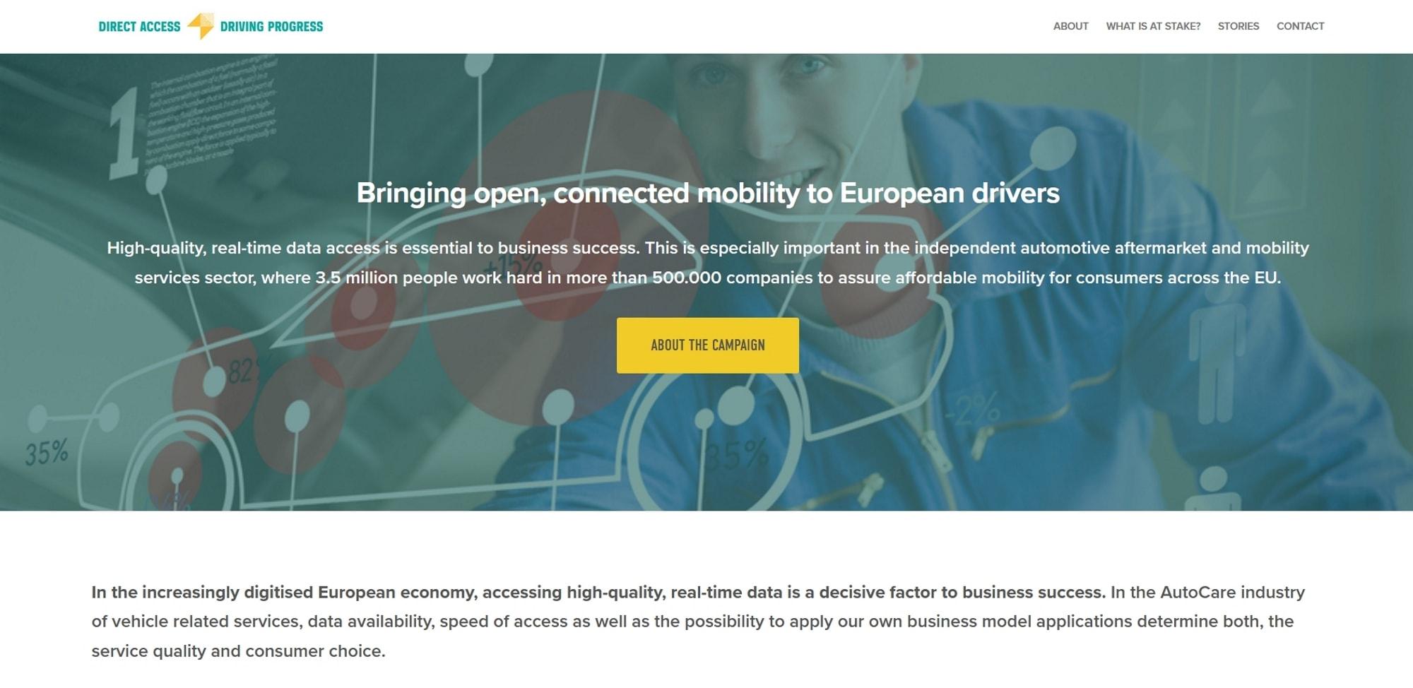 CETRAA apoya la campaña Direct Access - Driving Progress