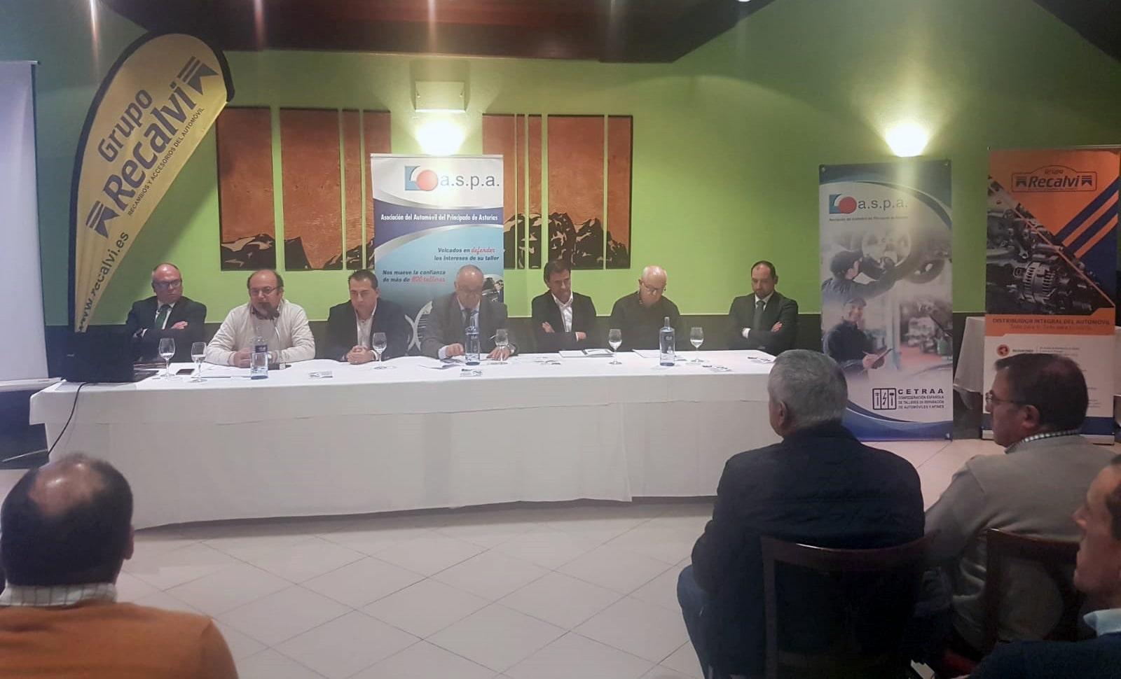 ASPA celebra una jornada técnica sobre los vehículos eléctricos