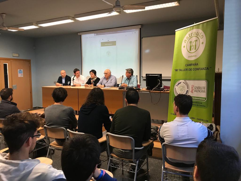 ASTRAUTO presenta una APP conjuntamente con el IES POLITÉCNICO DE CASTELLÓN