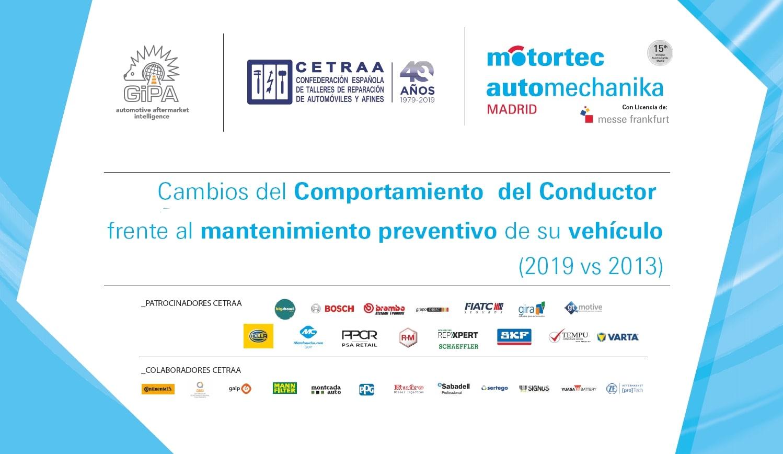Motortec y CETRAA presentan los estudios de GiPA y la patronal