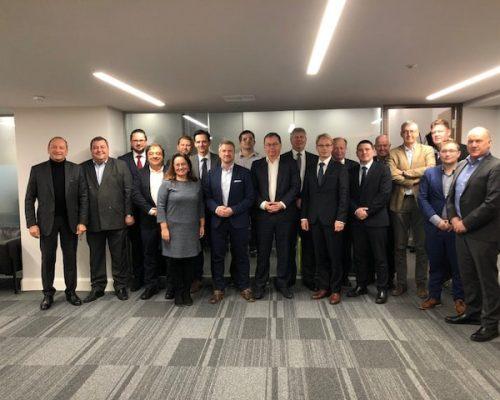Reunión de CECRA en Londres