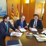Los responsables de FEMPA se reúnen con el alcalde de Alicante