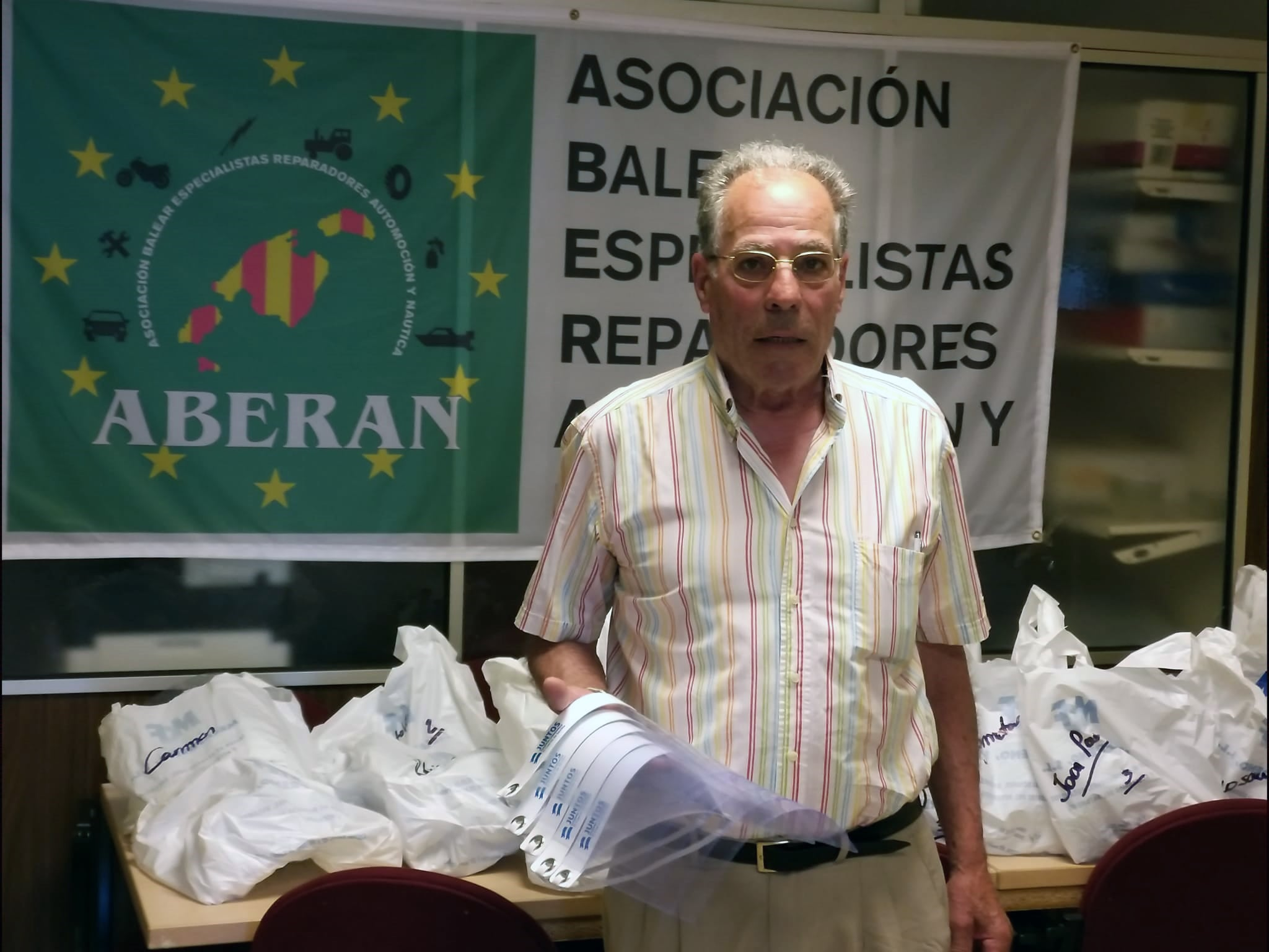 Pie de foto: Julio González, presidente de ABERAN