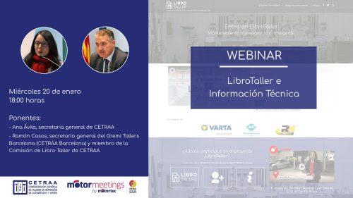 """Webinar """"LibroTaller e Información Técnica"""""""