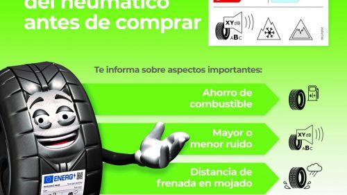 CETRAA - Campaña sobre la nueva etiqueta del neumático