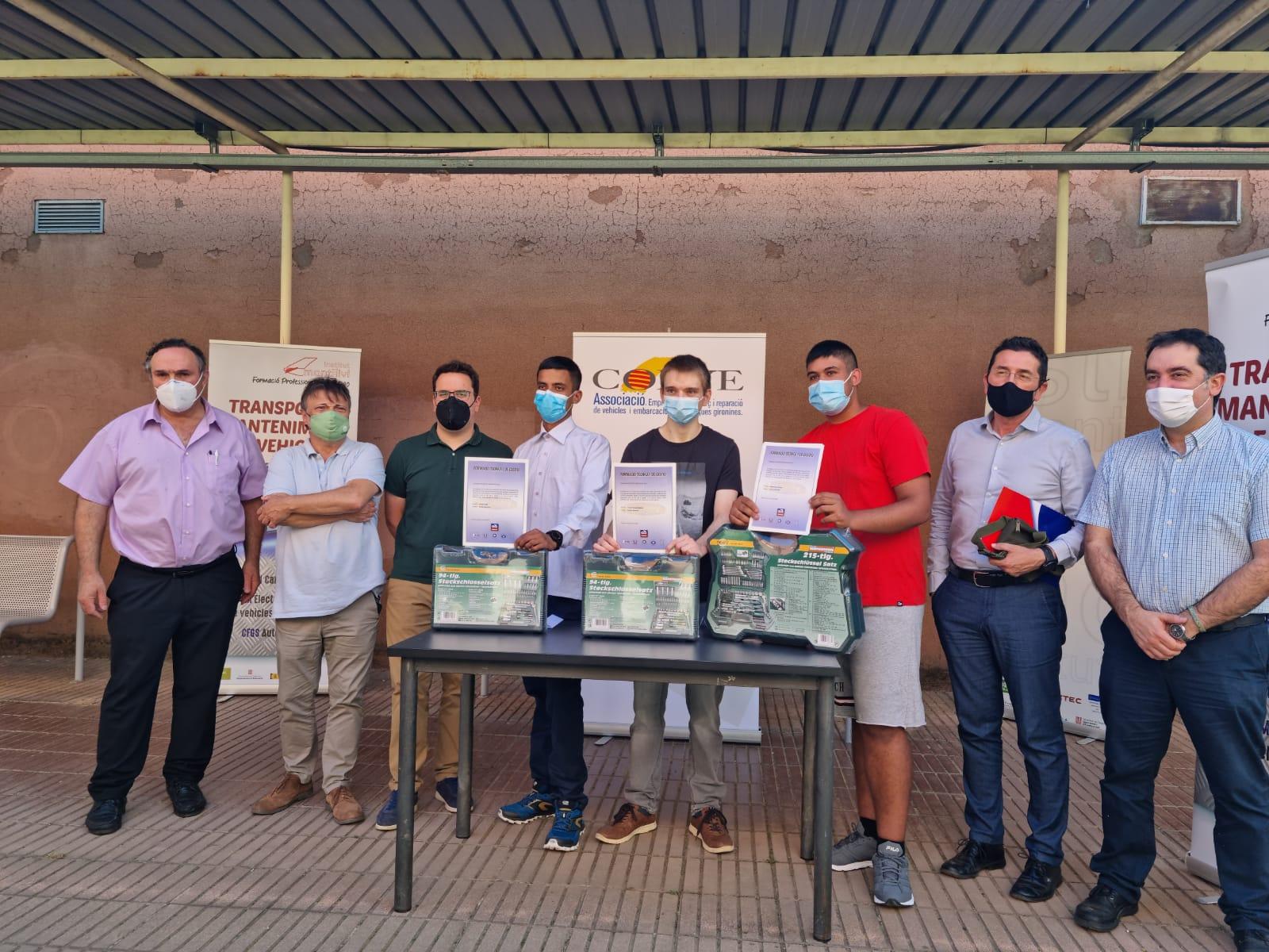 Premios Ciclos Formativos de Electromecánica - Montilivi