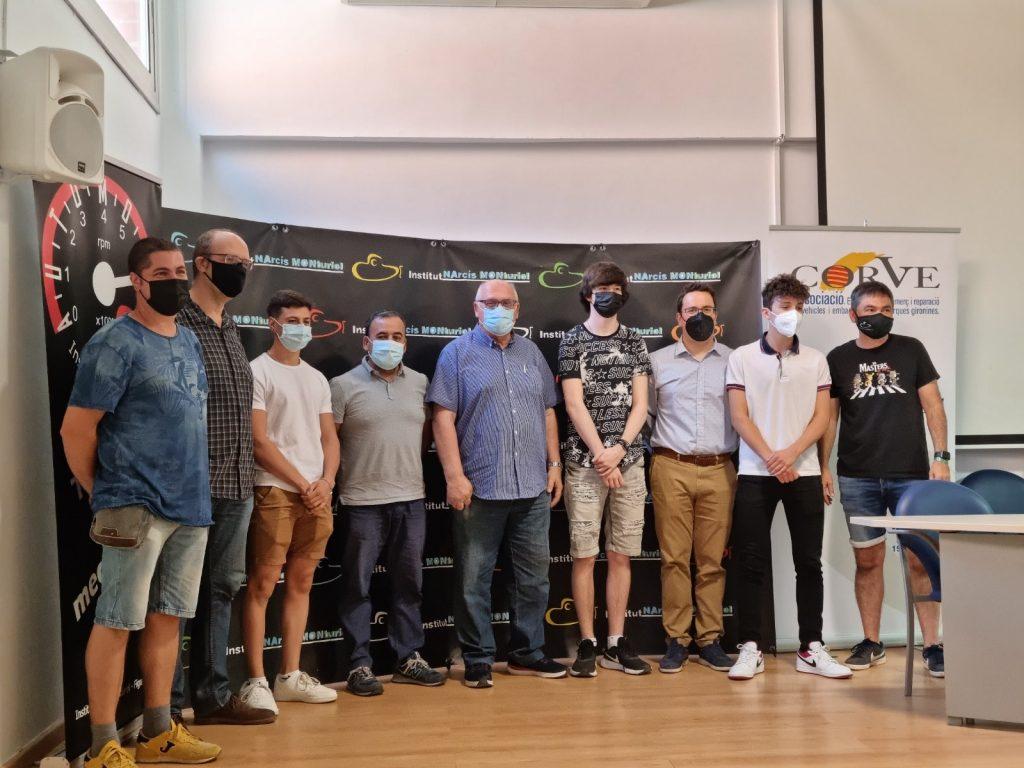Premios Ciclos Formativos de Electromecánica - Narcis Monturiol