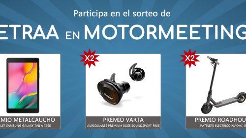 Sorteo CETRAA en Motormeetings